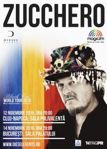 Zucchero_concert Bucuresti_afis